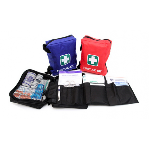 Square Mini Pouch First Aid Kit